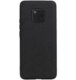 Hexagon Hard Case for Huawei Mate 20 Pro Black