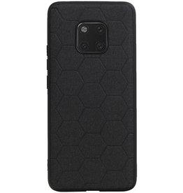 Hexagon Hard Case voor Huawei Mate 20 Pro Zwart