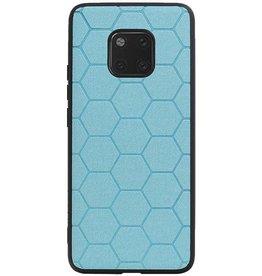 Hexagon Hard Case für Huawei Mate 20 Pro Blue