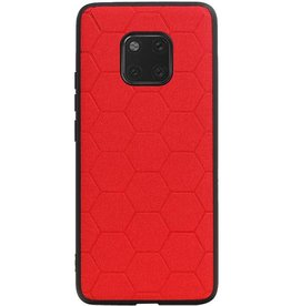 Hexagon Hard Case for Huawei Mate 20 Pro Red