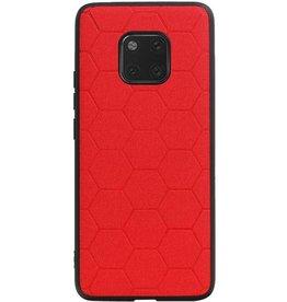 Hexagon Hard Case für Huawei Mate 20 Pro Rot