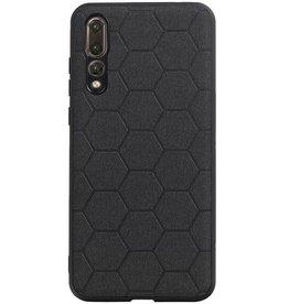 Hexagon Hard Case für Huawei P20 Pro Schwarz