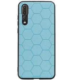Hexagon Hard Case für Huawei P20 Pro Blue