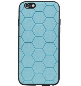 Hexagon Hard Case for iPhone 6 / 6s Blue