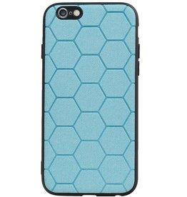 Hexagon Hard Case voor iPhone 6 / 6s Blauw