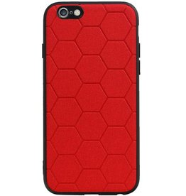 Hexagon Hard Case for iPhone 6 / 6s Red