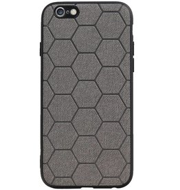 Hexagon Hard Case for iPhone 6 / 6s Gray
