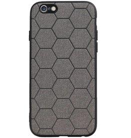 Hexagon Hard Case für iPhone 6 / 6s Grau