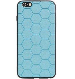 Hexagon Hard Case für iPhone 6 Plus / 6s Plus Blau