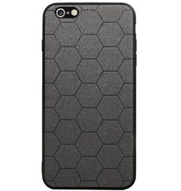 Hexagon Hard Case voor iPhone 6 Plus / 6s Plus Grijs