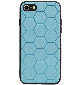 Hexagon Hard Case for iPhone 8 / iPhone 7 Blue
