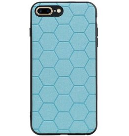 Hexagon Hard Case for iPhone 8 Plus / iPhone 7 Plus Blue