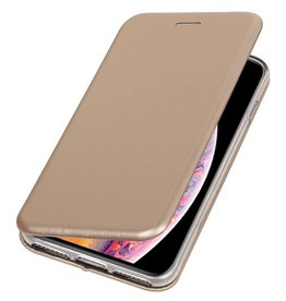 Slim Folio Case for iPhone XS Max Gold