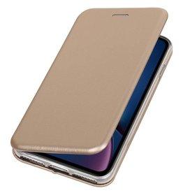 Slim Folio Case for iPhone XR Gold