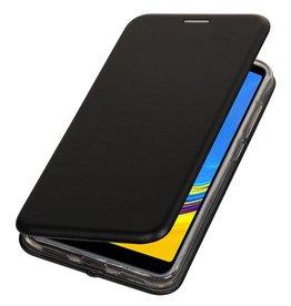 Slim Folio Case für Samsung Galaxy A7 2018 Schwarz