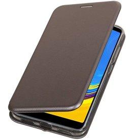 Slim Folio Case für Samsung Galaxy A7 2018 Grau