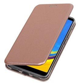Schmales Folio-Case für Samsung Galaxy A7 2018 Pink