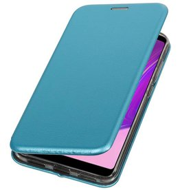 Slim Folio Case voor Samsung Galaxy A9 2018 Blauw