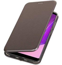 Schmales Folio-Case für Samsung Galaxy A9 2018 Grau