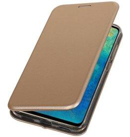 Schmales Folio-Case für Huawei Mate 20 Lite Gold