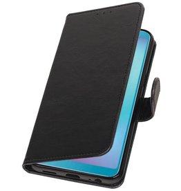 Pull Up Bookstyle für Samsung Galaxy A6s Black