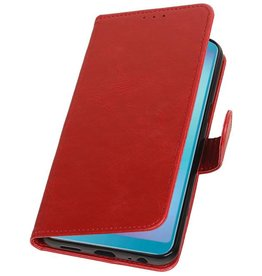 Pull Up Bookstyle for Samsung Galaxy A6s Red