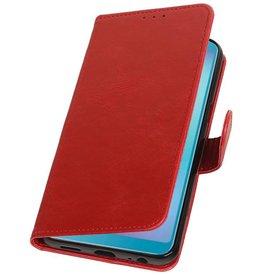 Pull Up Bookstyle für Samsung Galaxy A6s Red