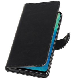 Pull Up Bookstyle für Huawei Mate 20 Black