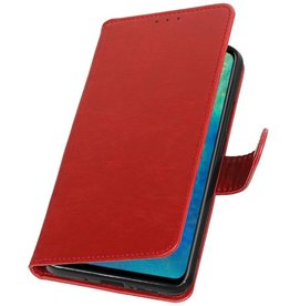 Pull Up Bookstyle for Huawei Mate 20 Red