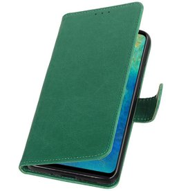 Pull Up Bookstyle for Huawei Mate 20 Green
