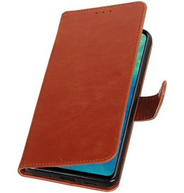 Pull Up Bookstyle for Huawei Mate 20 Brown