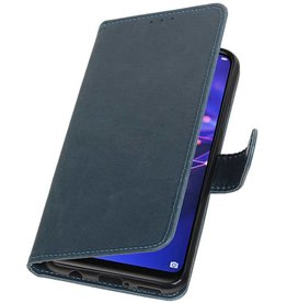 Pull Up Bookstyle for Huawei Mate 20 Lite Blue