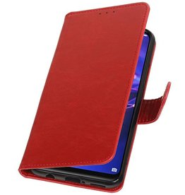 Pull Up Bookstyle for Huawei Mate 20 Lite Red