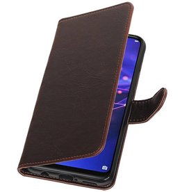 Pull Up Bookstyle für Huawei Mate 20 Lite Mocca