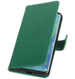 Pull Up Bookstyle for Huawei Mate 20 Pro Green