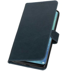 Pull Up Bookstyle for Huawei Mate 20 X Blue