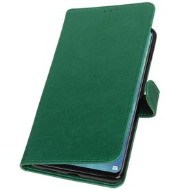 Pull Up Bookstyle for Huawei Mate 20 X Green