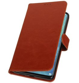 Pull Up Bookstyle for Huawei Mate 20 X Brown
