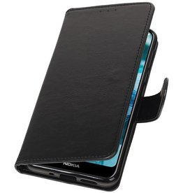 Pull Up Bookstyle for Nokia 7.1 Black