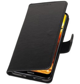 Pull Up Bookstyle for Nokia 8.1 Black