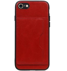 Standing Back Cover 1 Passes for iPhone 8/7 Red