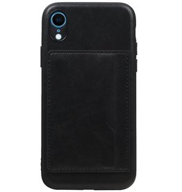 Standing Back Cover 1 Passes for iPhone XR Black