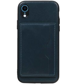 Standing Back Cover 1 Passes for iPhone XR Navy