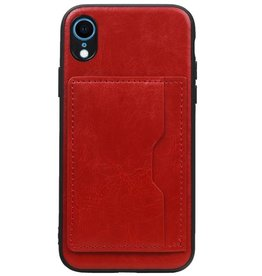 Standing Back Cover 1 Passes for iPhone XR Red