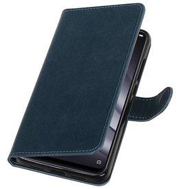 Pull Up Bookstyle voor XiaoMi Mi 8 Lite Blauw