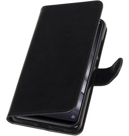 Pull Up Bookstyle voor XiaoMi Mi 8 Lite Zwart