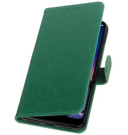 Pull Up Bookstyle for XiaoMi Redmi Note 6 Pro Green