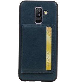 Cover Back 1 Cover-Karten für Galaxy A6 Plus 2018 Navy