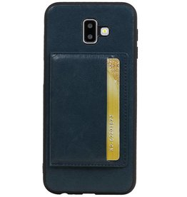Standing Back Cover 1 Passes for Galaxy J6 Plus Navy