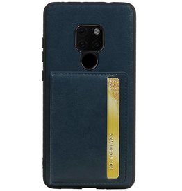 Standing Back Cover 1 Passes für Huawei Mate 20 Navy